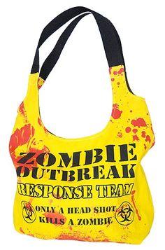 Darkside Clothing - Zombie Response Shoulder Bag