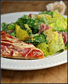 Italian Salad with Prosciutto, Peperoncini, and Parmesan 3 by preventionrd, via Flickr