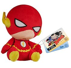 Funko- Mopeez: Heroes - The Flash! Travel-sized plush buddy! Check out the other Mopeez figures from Funko! Collect them all!.