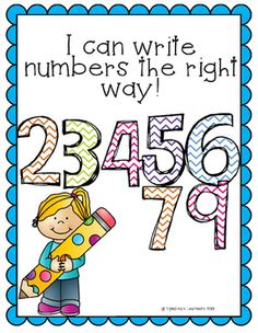 This product is for those students who still write their 2's, 3's, 4's, 5's, 6's, 7's, and 9's backwards. There is one worksheet for each number, and allows the student to circle the correct ones, and write the number at the bottom. Hope this helps!