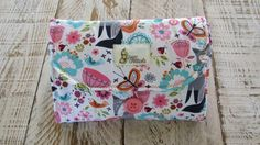 Changing Pad Fold Out Clutch in Fox & by SugarPeasCreations