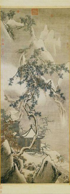 Ma Yuan, paesaggio innevato (1200 c.)