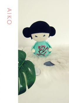 Aiko amigurumi Diy Crochet Amigurumi, Crochet Hats, Aiko, Snoopy, Baby, Knitting Hats, Baby Humor, Infant, Babies