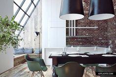 Emerald Penthouse Concept // Sergey Makhno Workshop