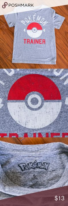 Pokemon Trainer Soft Blend T-Shirt Anime Condition: 9/10 (Measurements upon request!)  Ships same or next day via USPS Priority Mail from sunny Orlando, FL :)  Please Note these are ACTUAL PHOTOS of the product listed.   Reasonable offers are warmly welcomed & your purchase is greatly appreciated!   Poshmark Ambassador   4.9 Top Rated Seller   Top 10% Seller   Top 10% Sharer Pokemon Shirts Tees - Short Sleeve