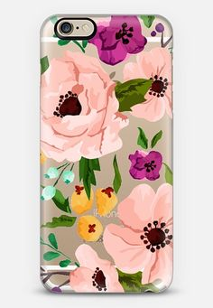 Pretty Flowers iPhone 6 case by Jande La'ulu | Casetify