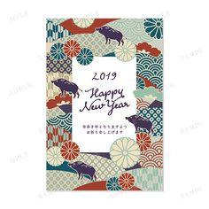 デザイナー紹介-とものり デザイナー年賀状2019(亥年・いのしし年)オシャレデザイン即ダウンロード・格安印刷 WTP企画