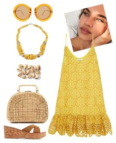 """""""In love with sun."""" by schenonek ❤ liked on Polyvore featuring Kayu, Alexis, NOVICA, K. Jacques and Quay"""