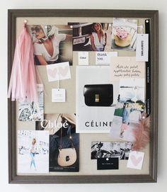 inspiration board Home Decor Bedroom, Entryway Decor, Diy Home Decor, Inspiration Wall, Glitz And Glam, Diy Photo, Fashion Room, Board Ideas, Mood Boards