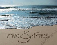 Sand Writing Beach Wedding Gift by BeachBabyKisses Mr. Sand Writing Beach Wedding Gift by BeachBabyKisses Wedding Pictures Beach, Beach Wedding Gifts, Honeymoon Pictures, Wedding Pics, Beach Photos, Wedding Ceremony, Dream Wedding, Wedding Ideas, Beach Ceremony