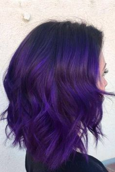 Exposition of Purple Hair Color picture3