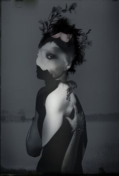 Art from 'Girl With the Dragon Tattoo'. very...interesting. I like it.