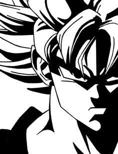 Dragon Ball Z Dbz Logo Super Saiyan Goku Anime Vinyl Die