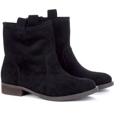 Sole Society Natasha round toe boot ($80) ❤ liked on Polyvore featuring shoes, boots, botas, sapatos, chaussures, black, black suede boots, slouchy suede boots, round toe boots and black slouch boots