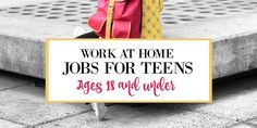 Teens can easily make money online by doing simple tasks, taking online surveys, tutoring other, and more. Here's the best 10 work at home ideas for teens.