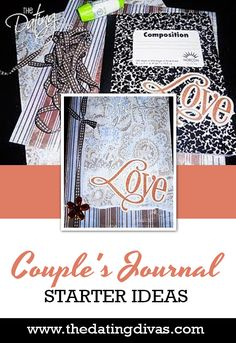 A journal for BOTH of us?! Great idea! Relationship Pictures, Couple Relationship, Marriage And Family, Happy Marriage, Relationships, Couple Scrapbook, Dating Divas, Memory Books, Smash Book