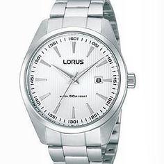 #ساعت lorus ساعتی زیبا و متفاوت ویژه اشخاص با سلیقه ای خاص و سخت پسند است. این ساعت با سادگی منحصر به فرد و طراحی متفاوت جزو شیک ترین محصولات طراحی شده توسط کمپانی lorus تاکنون است. این ساعت فوق العاده شیک یکی از محبوب ترین و پرطرفدارترین ساعت ها در اروپا می باشد. ساعت هر شخص نمادی از ویژگیهای شخصیتی وی می باشد با انتخاب این ساعت زیبا شخصیتی متفاوت از خود ارائه دهید. این ساعت شیک در دو رنگ  صفحه سفید و صفحه مشکی برای مطابقت با سلیقه شما ارائه شده است. صد در صد استیل و ضد آب  قیمت: 95000…