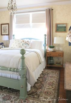 Decorating a welcoming guest bedroom.