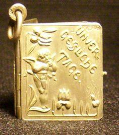 Jugendstil-Anhänger 1901 - Unvergessliche Tage, Silber | eBay