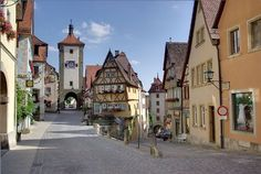 Rothenburg ob der Tauber on Germany's Romantic Road