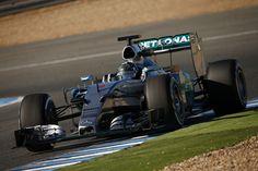 #2015 #Mercedes #test #Jerez
