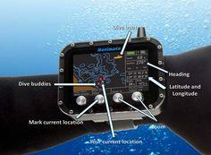 Navimate GPS for Divers #scuba