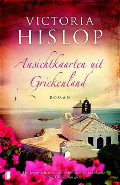 Ansichtkaarten uit Griekenland-Victoria Hislop-boek cover voorzijde