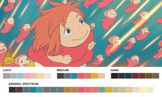 Graphic designer Ruby Radulescu's blog Movies in Color explores the color palettes of famous films. Graphic designer Ruby Radulescu's blog Movies in C...