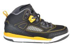 Jordan Spizike (PS) Preschool Kids' Basketball Shoes Black/Yellow Gold/White Jordan. $84.95