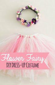 The Nonpareil Home: DIY Costume - Flower Fairy