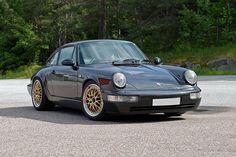 Black Porsche 911, I like the BBS wheels