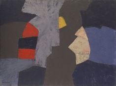 Serge Poliakoff (French, born Russia. 1906–1969) Composition