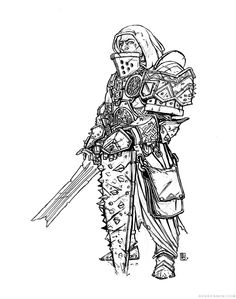 RPG-Character Concept: Pathfinder, Half-Orc Paladin/Fighter