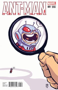 Ant-man #1 VC by Skottie Young