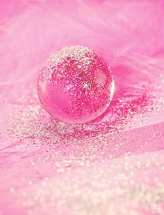 Pink Sparkle Bubble