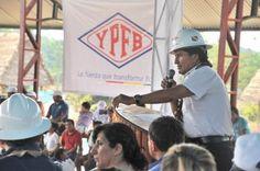 Bolivia Informa: Evo inaugura Sísmica 2D en Cuenca Madre de Dios