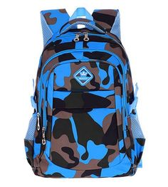 b5cc747e80 Kitmei Cool Camo Book Bag Kids School Bookbag Backpack for Boys  fashion   clothing