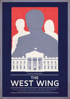 A Print based on Aaron Sorkin's hit NBC show West Wing