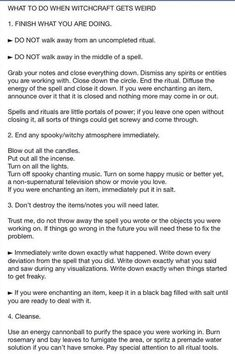 Witchy Tips & More: For Baby Witches & Broom Closet Dwellers - Random Tips & Tricks pt.II - Page 3 - Wattpad Page 3 Read Random Tips & Tricks pt.II from the story Witchy Tips & More: For Baby Witches & Broom Closet Dwellers by _.