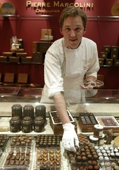 Master chocolatier Pierre Marcolini opens his first shop in London - Telegraph