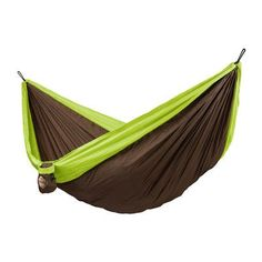 LA SIESTA Colibri Double Travel Hammock Color: Green
