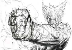 Garou Manga - One punch man by Opm Manga, Manga Anime, Anime One, One Punch Man Manga, Character Drawing, Character Design, Saitama One Punch Man, Ken Tokyo Ghoul, Anime Fight