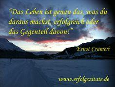 Erfolgszitat von Ernst Crameri Zitat von Ernst Crameri  Schweizer Geschäftsmann und Schriftsteller (06.10.1959 - 06.10.2069)  Statement Ern... (http://prg.li/m/214407)