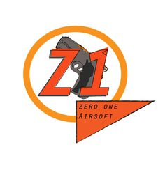 The second of 2 variants I made for the Zero-One Airsoft logo redesign challenge on 99designs.com