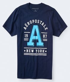 Own your look with guys classic graphic and printed t-shirts only at Aero. Shop short sleeve t-shirts for teen boys and men at great prices. Aeropostale, Casual T Shirts, Cool T Shirts, Teen Boys, Graphic Tees, Guys, Long Sleeve, Mens Tops, Shopping