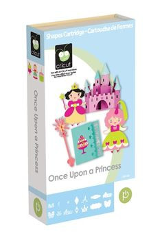 Once Upon A Princess Cricut Cartridge