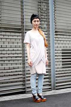 【STREET SNAP】坂入 小百合   Dot+LIM hair stylist   ストリートスナップ   原宿(東京) 