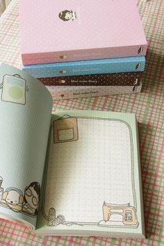 Kawaii Diary Book
