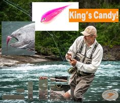 King's Candy Chinook salmon tube flies; when the Chinook are staging pink is a good choice of colour.   #kingsalmon #chinooksalmon #flyfishing #flies #skeenariverflysupply #sales Color Fly, Colour, Fly Fishing Shop, King Salmon, Salmon Flies, Fish Patterns, Staging, Tube, It Cast