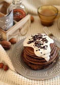 Vegan chocolate pancakes e il nuovo Taste & More